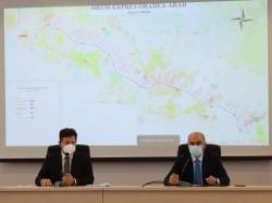 Traseul drumului expres Oradea-Arad a fost aprobat. Valoarea drumului expres Arad-Oradea urcă la 1,38 miliarde euro