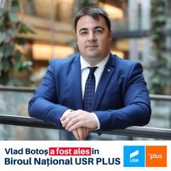 Vlad Botoș, membru al noului Birou Național al USR PLUS