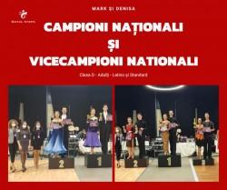 Școala de dans Royal Steps a obținut titluri de campioni și vicecampioni la Campionatul Național de Clase la dans sportiv