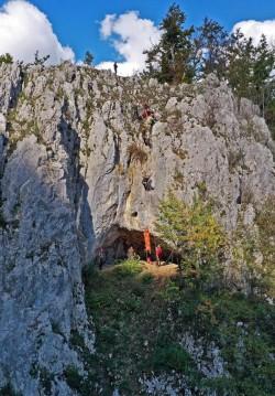 Salvaspeo Arad a participat în județul Bihor la exerciții de salvare, speologice și montane