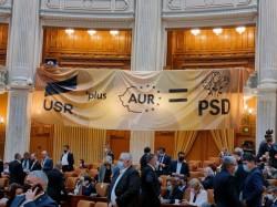Alianța rușinoasă USR, PSD și AUR nu are soluții pentru viitorul României