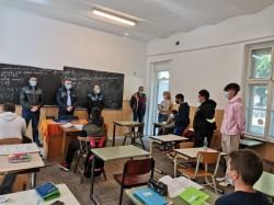 """Activitate educativ preventivă la liceul """"Atanasie Marienescu"""" din Lipova"""
