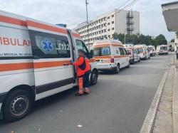 Bilanț Pandemie 7 octombrie: Coada de ambulanțe de la intrarea în Spitalul Județean – imaginea gravității situației din Arad