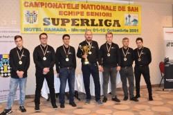 Primul titlu național pe echipe din istorie pentru Arad adus de șahiștii de la Vados