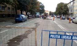 Restricții de circulație pe strada I.C.Brătianu. Front nou de lucru pentru reţeaua de apă de pe I.C. Brătianu
