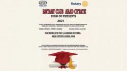 Bursă de excelență oferită de clubul Rotary Arad Cetate