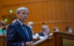 """Guvernul USR propus de Dacian Cioloș a picat la vot în Parlament, cu 88 de voturi """"pentru"""" și 184 """"împotrivă"""""""
