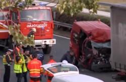 Patru români au murit într-un accident rutier în Ungaria