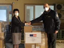 Mai multe tipuri de medicamente, aflate în stocurile Austriei  au fost oferite României prin Mecanismul European de Protecție Civilă