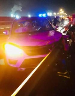Un pieton a fost lovit mortal de un autoturism în timp ce traversa autostrada