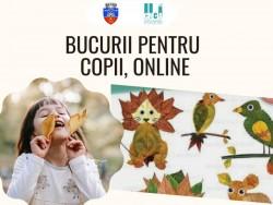 """""""Bucurii pentru copii"""" – ateliere de creație și teatru de păpuși, online"""